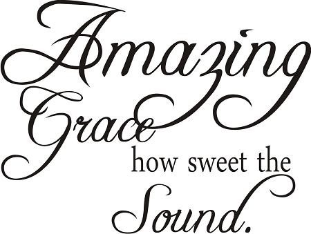 Amazing Grace Wall Art amazing grace wall words